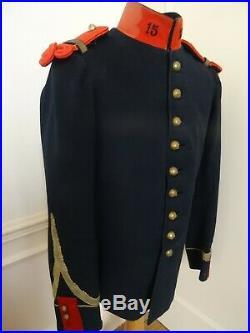 Tunique et pantalon brigadier 15 ème régiment d'artillerie 14-18 cavalerie