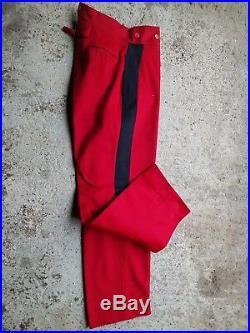 Un Pantalon Militaire Armée Française ww1 ww2 Militaria