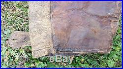 Un pantalon de vol navigant cuir 1914-1918 ww1 militaria