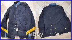 Uniforme avant 1914/1918 Ecole spéciale militaire cavalerie veste troupe 1897