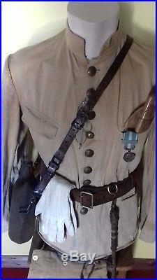Uniforme d officier colonial 1914 1918