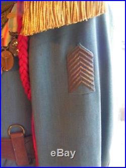 Uniforme francais lt du 57 eme infanterie