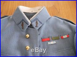 Uniforme lieutenant infanterie bleu horizon WW1 WW2 France