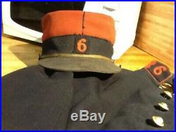 Uniforme vareuse kepi pantalon infanterie 1914