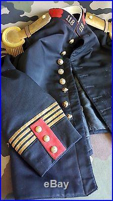 Uniforme veste pantalon 118ème RI QUIMPER 1914-1918 ww1 militaria