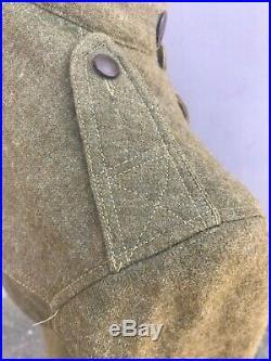 Uniformes US 14/18 veste et pantalon datée 1918 WW1