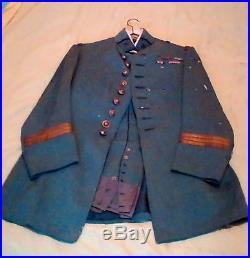 Uniiforme de Capitaine Bleu Horizon guerre de 14 18