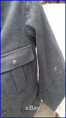 Vareuse Française Bleu Horizon 4 poches bleu horizon troupe WW1 14/18 Poilu