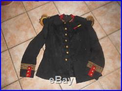 Vareuse Off Fr Mle 1895/1914 D Un Rgt D Infanterie + Epaulettes