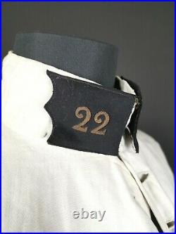 Vareuse Troupe Coloniale Toile Ww1 Officier 22 Regiment Infanterie Coloniale