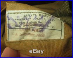 Vareuse US WW1 datée 1917