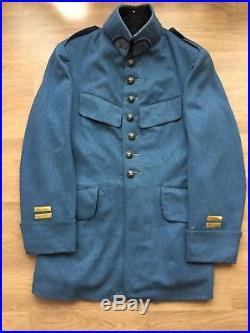 Vareuse bleu horizon de lieutenant du 26e RI vers 1917 1918