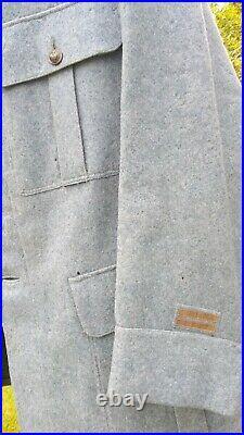 Vareuse officier bleue horizon 1914-1918 2e Régiment des chemins de fer