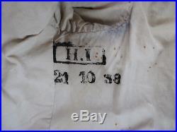 Vareuse troupe Veste Mle 1915 bleu horizon clair 156e RI mais marquer 404e DCA