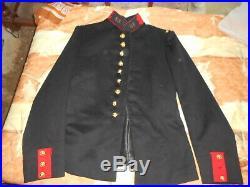 Veste Fr Off Mle 1893 Du 68 Rgt D Infanterie