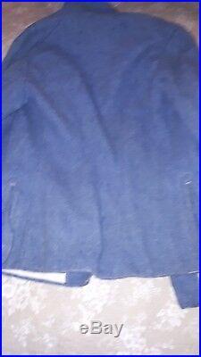 Veste Vareuse BH troupe modifiée poilus bleu horizon 1917 WWI 14-18