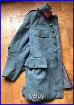 Veste bleue horizon poilue deuxième régiment d'artillerie
