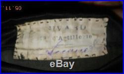 Veste d'uniforme 18ème régiment d'artillerie 14/18 WW1