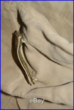 Veste+pantalon+chéchia en velours d'1 lieut 3 RTA, tirailleurs, armée d'Afrique
