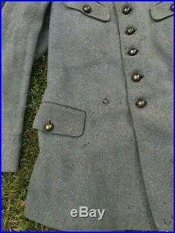 Veste soldat français Bleu Horizon automobiliste conducteur BH WW1 infanterie