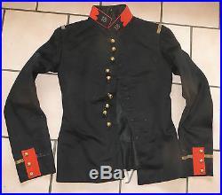 Veste, vareuse Officier 18 ème Régiment d' Artillerie, attribuée et datée de 1890
