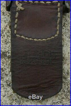 WURTTEMBERG boucle de ceinturon modèle 1915 feldgrau avec patelette marquée