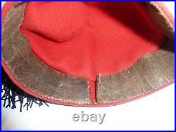WW1 14/18 Chéchia zouave avec son gland bleu foncé superbe état