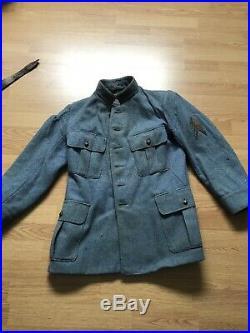 WW1 14-18 Vareuse Bleu Horizon BH 4 Poches. Wk1 Du 326 Eme RI