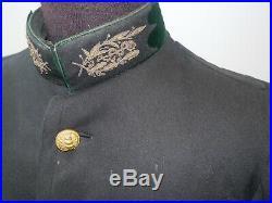 WW1 14/18 vareuse 6 poches du Pharmacien-Chef de l'hôpital Sédillot Nancy
