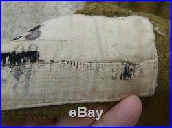 WW1 Authentique Pantalon Culotte en Drap Moutarde Tirailleurs Troupes Afrique