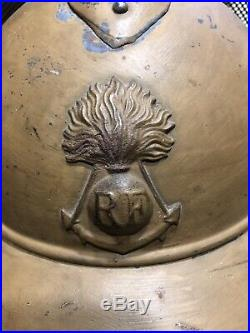 WW1 Casque coloniale 14-18 diplôme et médailles, soldat mort pour la France