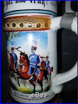 WW1 Chope de réserviste Régiment de cavallerie Hussard Prussien