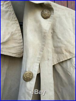 WW1 cape de tranchée d'officier Britannique / British Officer Trench Mantle