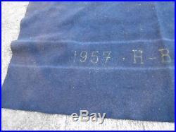 WW1 selle 1911 artillerie complete couverture bleu 3 eme republique cavalerie