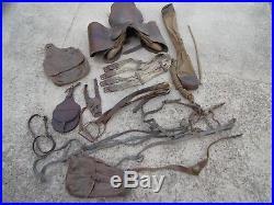 WW1 selle Francaise Officier complete 3 eme republique cavalerie