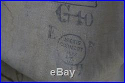 WWI FRANCE 1914 1918 CAPOTE GRIS DE FER BLEUTE MODELE 1873 117eme RI