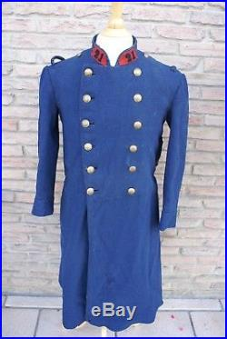 WWI FRANCE 1914 1918 Capote Gris de fer bleuté Modèle 1873