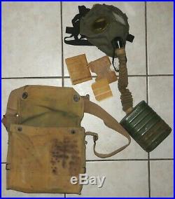 WWI masque de protection US, USA avec son petit livret