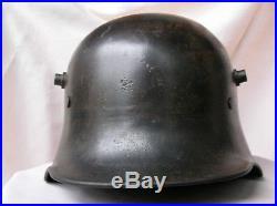 Ww1 Allemand Casque Allemand/autrichien Bf64 Modele16 14-18