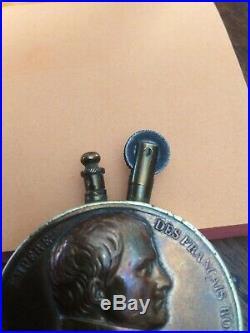Ww1 Artisanat De Tranchée Rare Briquet De Poilu A Leffigie De Napoléon 1er