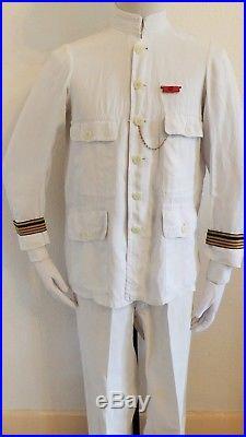 Ww1 Lot Tenue Uniforme Casque Officier Troupes De Marine Ou Troupes Coloniales