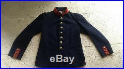 Ww1 vareuse tunique modèle 1897 infanterie 1914 piou piou uniforme France
