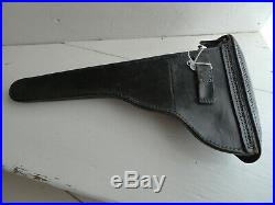Wwi Etui Luger Artillerie Pistolet Holster Armee Allemande P08 Materiel Original